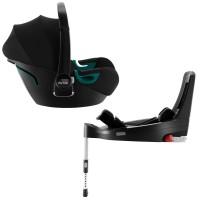 Britax-Romer Baby-Safe iSense автокрісло з базою Flex 40-83 см Space black