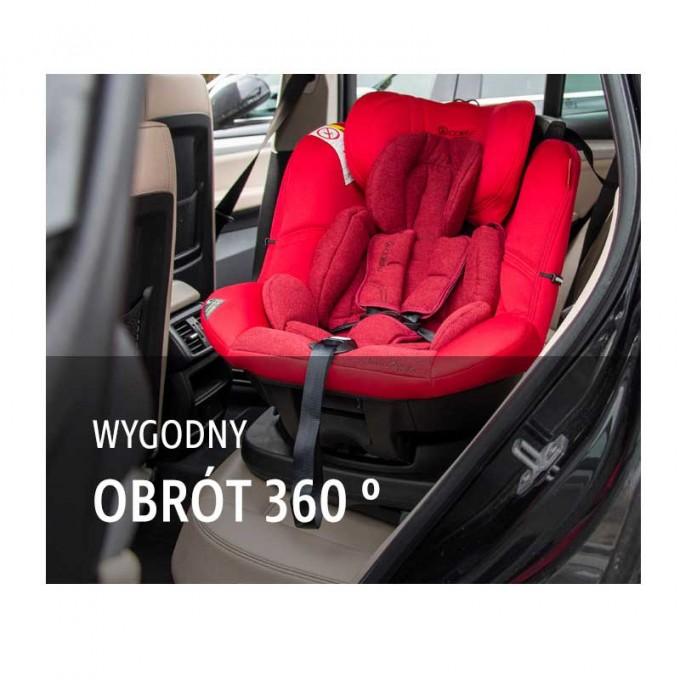 Coletto Millo isofix автокрісло 0-18 кг red