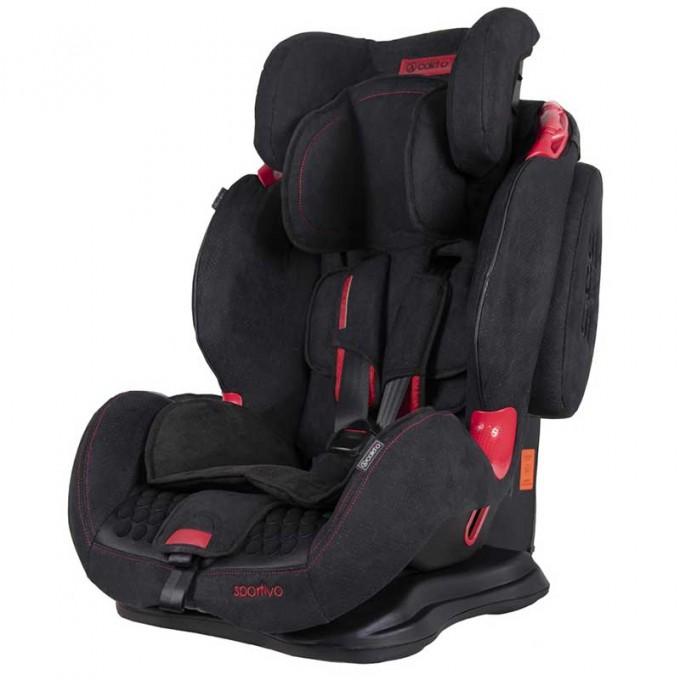 Coletto Sportivo автокрісло 9-36 кг Black new