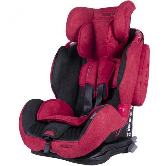 Coletto Sportivo Isofix автокрісло 9-36 кг Red