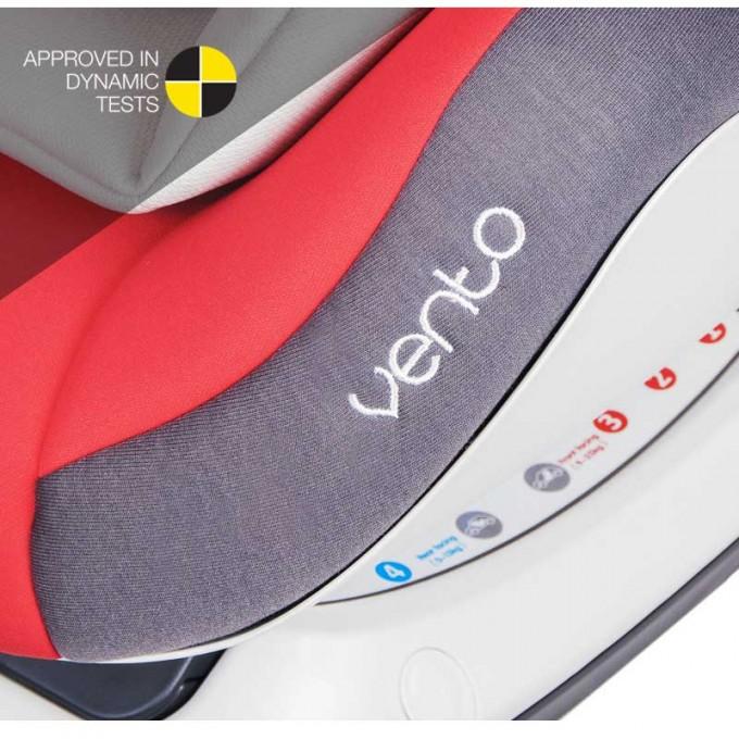 Coletto Vento Isofix автокрісло 0-25 кг Black