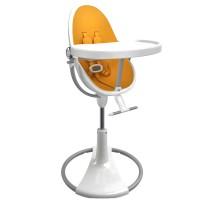 Стільчик для годування Bloom White вкладка marigold yellow