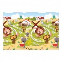 Розвиваючий килимок Babycare Animal Farm 2100х1400х13 мм