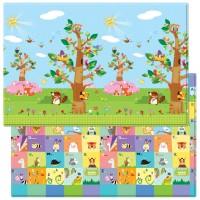 Розвиваючий килимок Babycare Birds in the Trees 2100х1400х13 мм