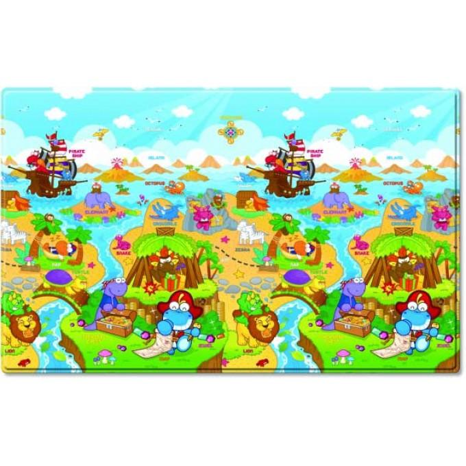 Розвиваючий килимок Dwinguler Dino Adventure 1900х1300х15 мм