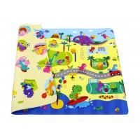 Розвиваючий килимок Babycare Dino Sports 2100х1400х13 мм