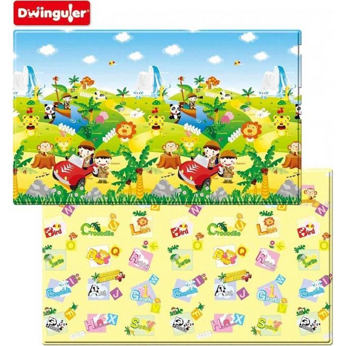 Розвиваючий килимок Dwinguler Safari 2300х1400х15 мм