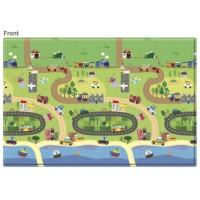 Розвиваючий килимок Babycare Happy Village 2100х1400х13 мм