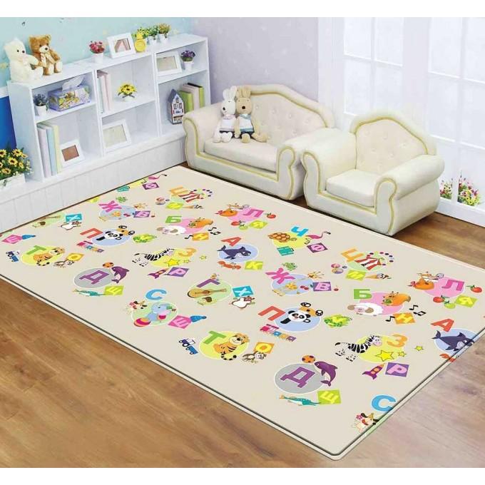 Розвиваючий килимок Dwinguler Dino Land 2300х1400х15 мм