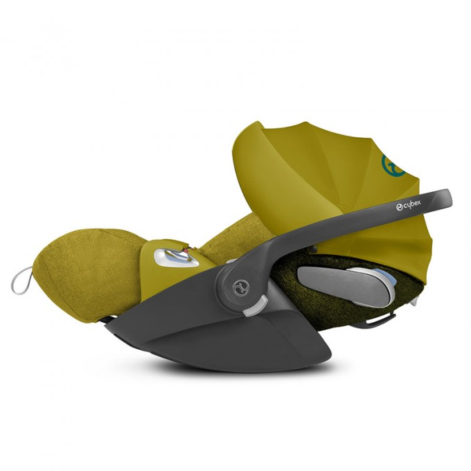 Автокрісло Cybex Cloud Z-iSize Mustard Yellow / Plus