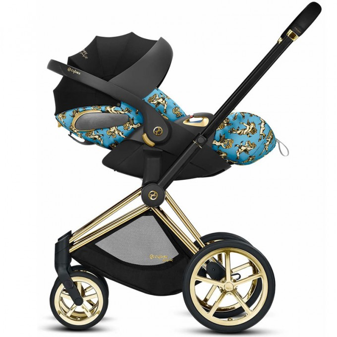 Автокрісло Cybex Cloud Z-iSize Cherubs Blue