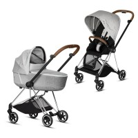 Коляска Cybex Mios 2 в 1 Koi шасі Chrome Brown