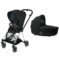 Коляска Cybex Mios 2 в 1 Deep Black шасі Chrome Black