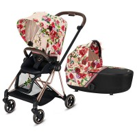 Коляска Cybex Mios 2 в 1 Blossom Light шасі Rosegold