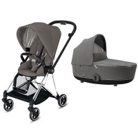Коляска Cybex Mios 2 в 1 Soho Grey шасі Chrome Black