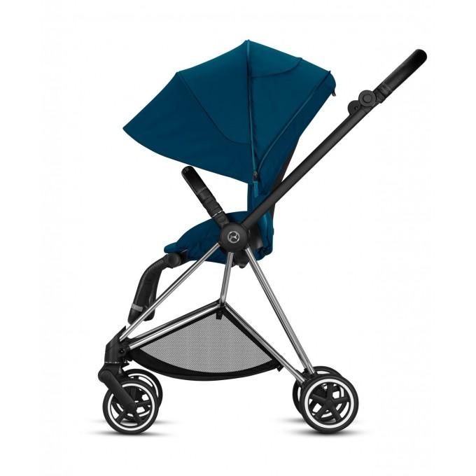 Прогулянкова коляска Cybex Mios Mountain Blue шасі Chrome Black