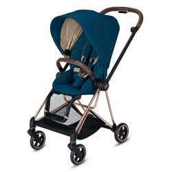 Прогулянкова коляска Cybex Mios Mountain Blue шасі Rosegold