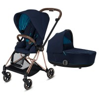Коляска Cybex Mios 2 в 1 Nautical Blue шасі Rosegold