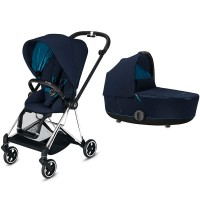 Коляска Cybex Mios 2 в 1 Nautical Blue шасі Chrome Black