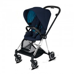 Прогулянкова коляска Cybex Mios Nautical Blue шасі Chrome Black