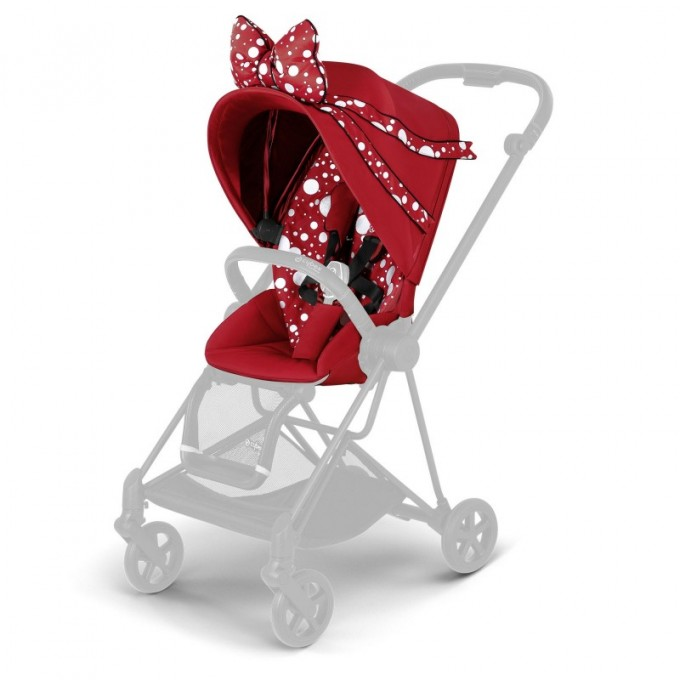Прогулянкова коляска Cybex Mios Jeremy Scott Petticoat шасі Rosegold
