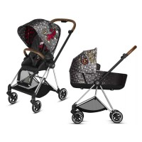 Коляска Cybex Mios 2 в 1 Rebellious шасі Chrome Brown