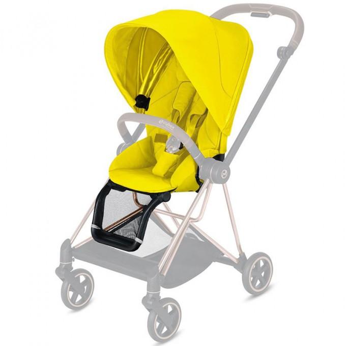 Прогулянкова коляска Cybex Mios Mustard Yellow шасі Chrome Black