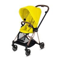 Прогулянкова коляска Cybex Mios Mustard Yellow шасі Rosegold
