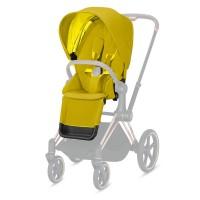 Комплект тканини для Priam Lux Seat mustard yellow
