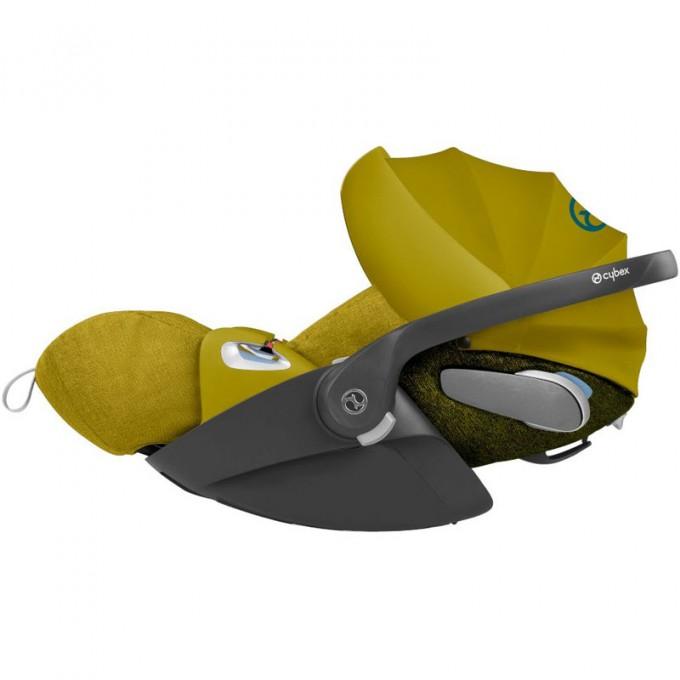 Коляска Cybex Priam 3 в 1 Mustard Yellow шасі Matt Black автокрісло Cloud Z-iSize
