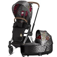 Коляска Cybex Priam 2 в 1 Rebellious шасі Chrome Brown