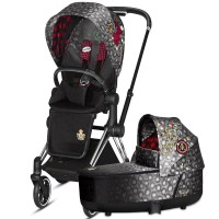 Коляска Cybex Priam 2 в 1 Rebellious шасі Chrome Black