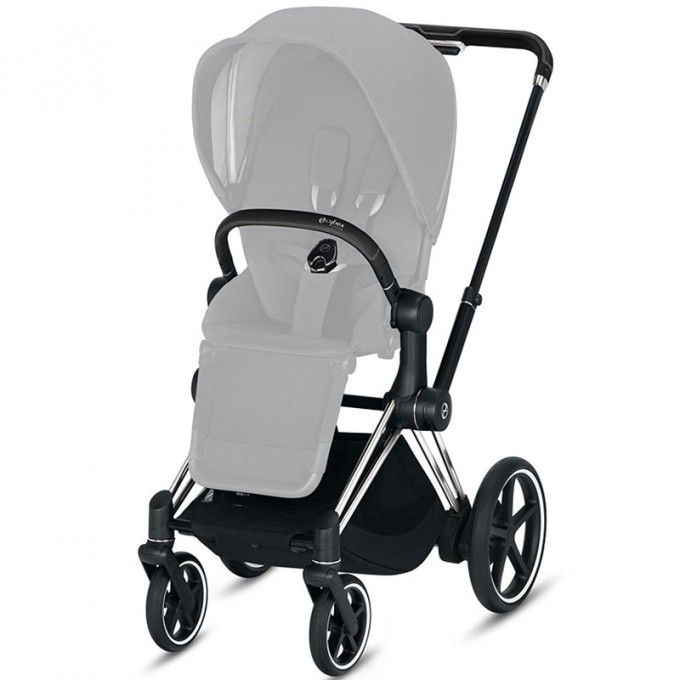 Коляска Cybex Priam 2 в 1 Karolina Kurkova шасі Chrome Black