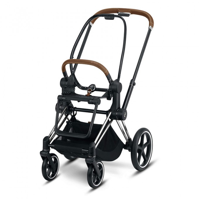 Коляска Cybex Priam 2 в 1 Koi шасі Chrome Brown