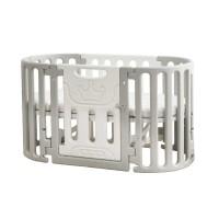 Ліжко-трансформер Babyhit 5 в 1 white/grey