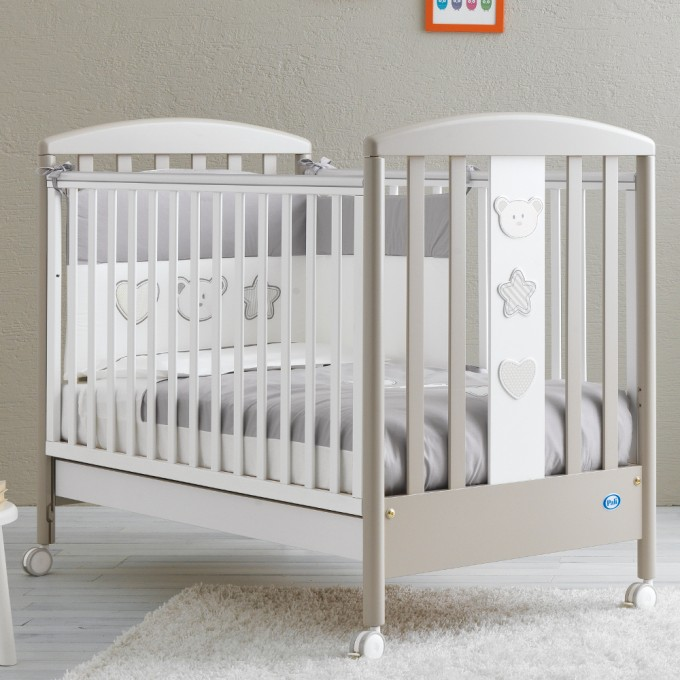 Ліжко Pali Birillo warm grey