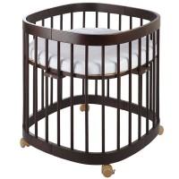 Ліжко-трансформер Tweeto 7 в 1 wenge
