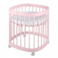 Ліжко-трансформер Tweeto 7 в 1 pink