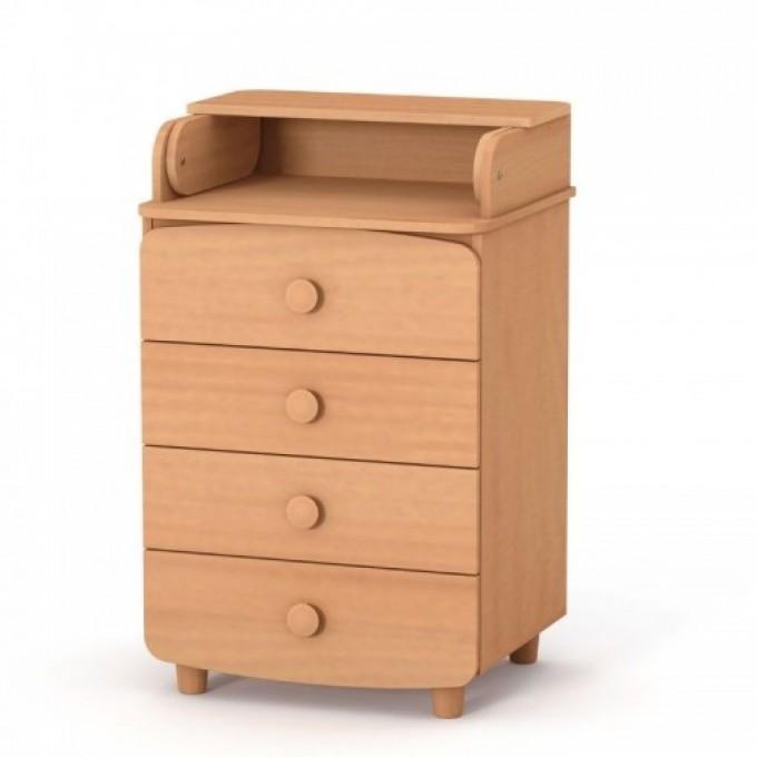 Комод-пеленатор Верес 600 ДСП (колір: бук)