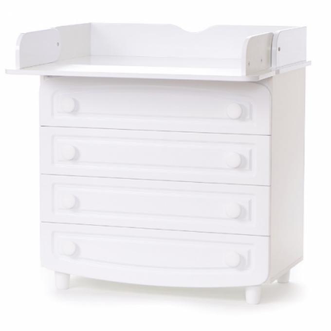 Комод-пеленатор Верес фільонка (колір: білий)