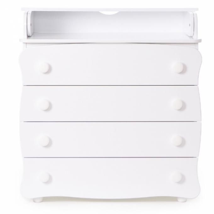 Комод-пеленатор Верес 16 (колір: білий)