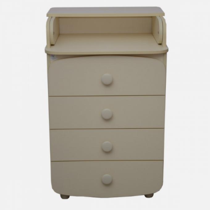 Комод-пеленатор Верес 600 ДСП (колір: слонова кістка)