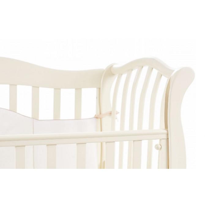 Ліжечко Верес ЛД19 без шухляди (колір: слонова кістка) ЄС