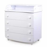 Комод-пеленатор Верес 900 гладкий фасад (колір: білий)
