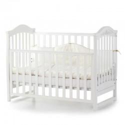 Ліжечко Верес ЛД3 без шухляди (колір: білий) ЄС