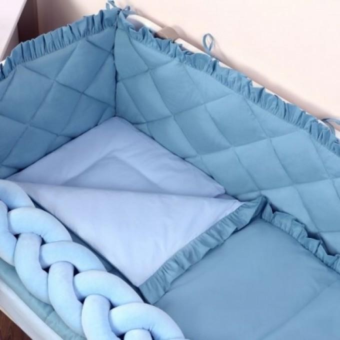 Комплект постільної білизни Veres Macaroon Blueberry 6 елементів
