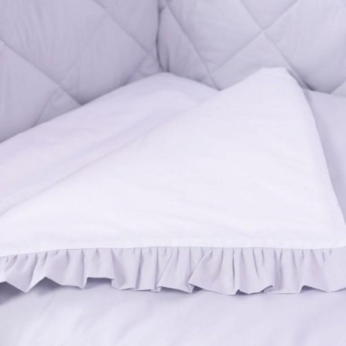 Комплект постільної білизни Veres Macaroon Earl grey 6 елементів
