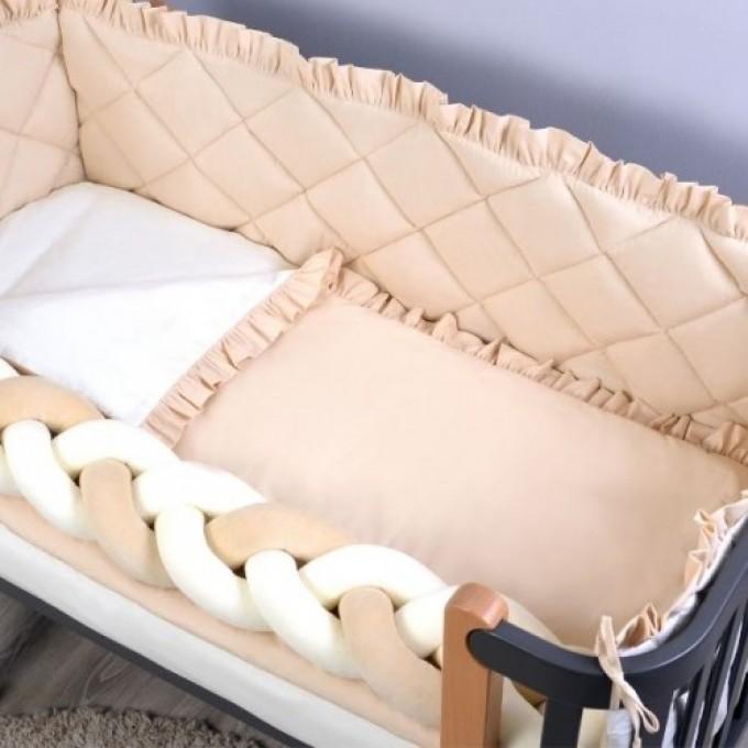 Комплект постільної білизни Veres Macaroon Vanilla 6 елементів