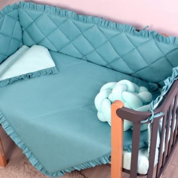 Комплект постільної білизни Veres Macaroon Tiffany 6 елементів