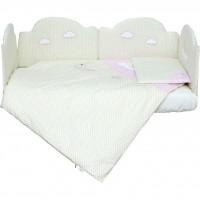 Комплект постільної білизни Верес Sleepyhead pink 6 елементів